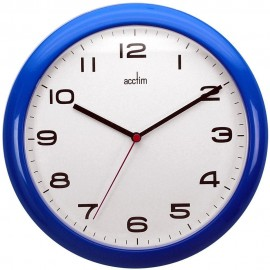 Aylesbury Blue Wall Clock 25.5cm