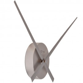 Mini Silver Hands Wall Clock 40cm