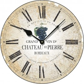 Chateau St Pierre Wall Clock 36cm