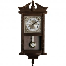 Westbury Radio Controlled Chiming Pendulum Clock 62.5cm