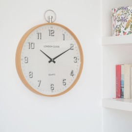 Attic Wall Clock White 41cm