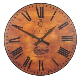 Chateau Revillon Wall Clock 49cm