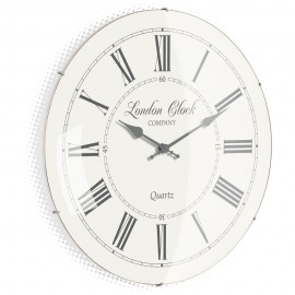 Emma Cream Wall Clock 42cm