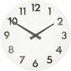 Camden Cotton White Wall Clock 30cm