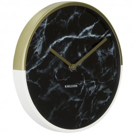 Marble Delight Gold Wall Clock 30cm