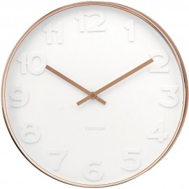 Mr White Copper Wall Clock 51cm