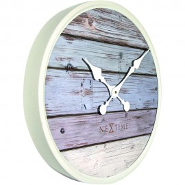 Plank Grey Wall Clock 50cm