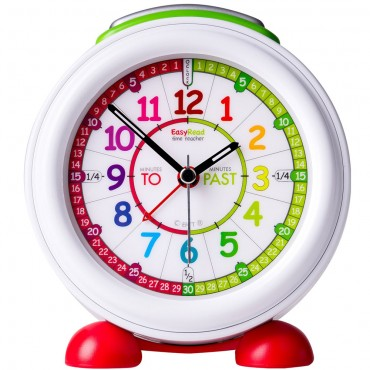 EasyRead Time Teacher Rainbow Past & To Alarm Clock 18cm