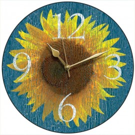 Sunflower Wall Clock 28.5cm