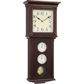 Thermometer & Humidity Pendulum Clock 69cm