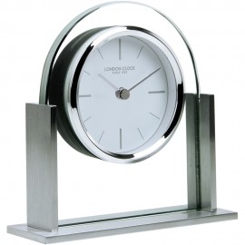 Modern glass mantel clocks