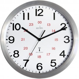 Century Radio Controlled Wall Clock 25cm