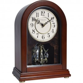 Arch Top Wooden Mantel Clock