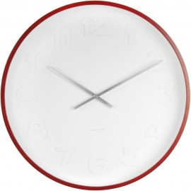 Mr. White Large Numbers Wall Clock 52.5cm