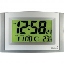 Stratus Smartlite Radio Controlled Digital Wall Clock 27cm
