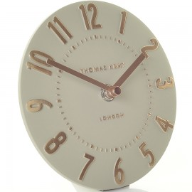 Mulberry Rose Gold Mantel Clock 15cm