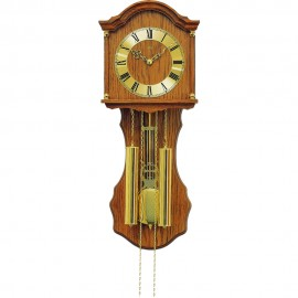 8 Day Chime & Strike Pendulum Clock 66cm