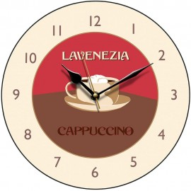 Perkins & Morely Cappuccino Wall Clock 28.5cm