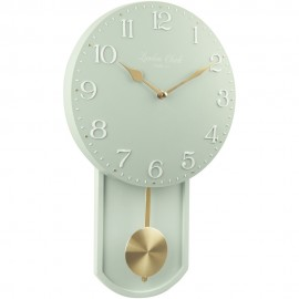 Olivia Wall Clock Green 25cm