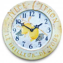 Citrus Wall Clock 36cm
