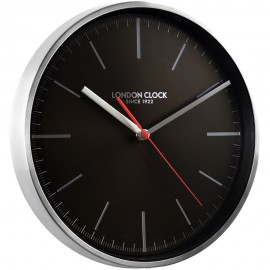 Glide Wall Clock Black 30cm
