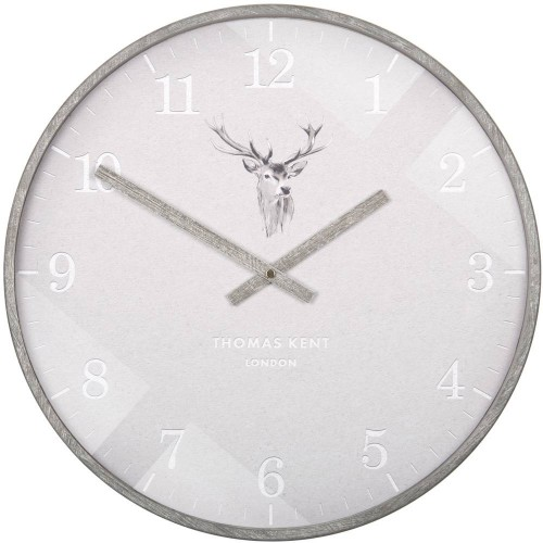 Crofter Stag Wall Clock 41cm