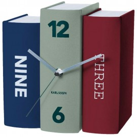 Book Table Clock 20cm