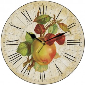 Apples And Cherries Wall Clock 28.5cm