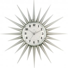 Attractive Stella Silver Wall Clock 43cm