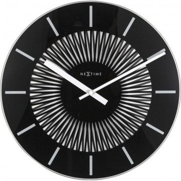 Radial Moving Wall Clock 35cm