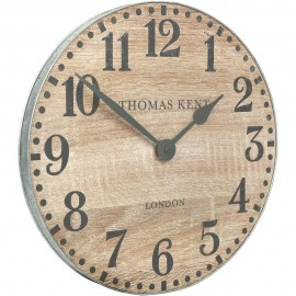 Wharf Soaped Oak Wall Clock 38cm