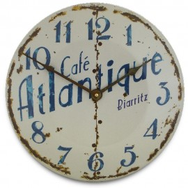 Caf� Atlantique Convex Wall Clock 36cm