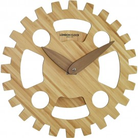 Vri Rotating Gear Wall Clock 36cm