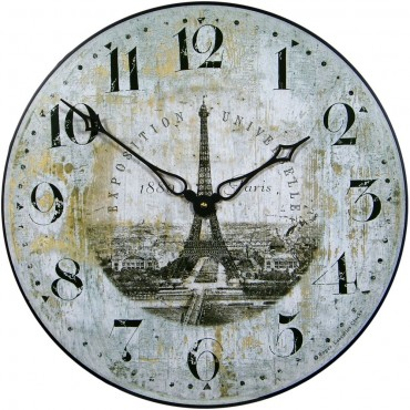 Classic French Wall Clock 36cm