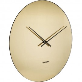 Mirage Gold Wall Clock 40cm