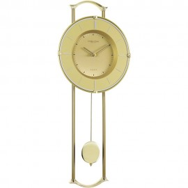 Gold Effect Pendulum Clock 57.5cm