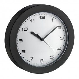 Black Wall Clock 22.8cm