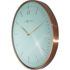 Glamour Rose Gold Wall Clock 40cm