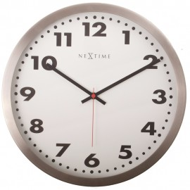 Arabic Metal Wall Clock 26cm