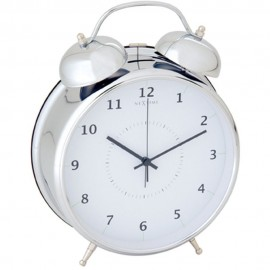 Wake Up White Alarm Clock 30cm