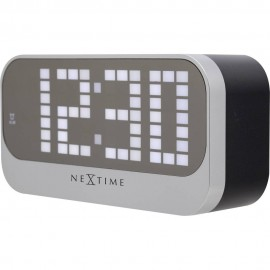 Super Loud Black Alarm Clock 17.5cm