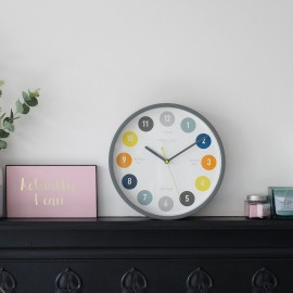 Kids Tell the Time Wall Clock 30cm