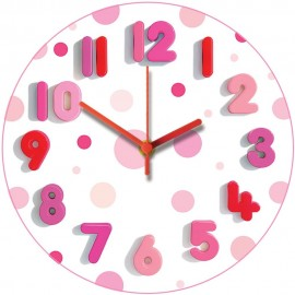 Spotty Two Wall Clock 28.5cm
