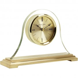 Gold Napoleon Mantel Clock 22cm