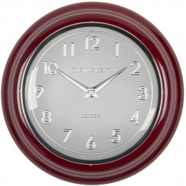 Bakery Red Wall Clock 23cm