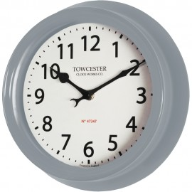 Shelton Dusk Outdoor Wall Clock 21.5cm