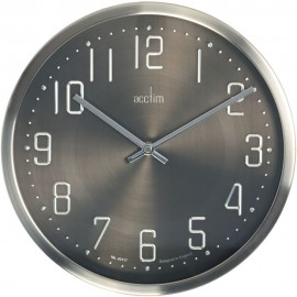 Alvik Embossed Numbers Wall Clock 29cm