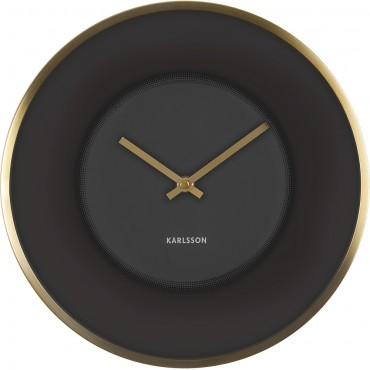 Illusion Gold Wall Clock 30cm