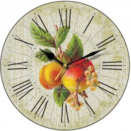 Apricots And Whitecurrants Wall Clock 28.5cm