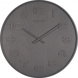 Brown Wood Wood Wall Clock 35cm or 53cm